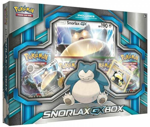 Pokemon TCG: Snorlax-GX Box