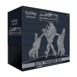 Pokemon TCG: Sun & Moon Burning Shadows Elite Trainer Box