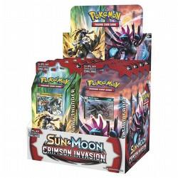 Pokemon TCG: Sun & Moon Crimson Invasion Theme Starter Deck Box