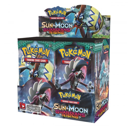 Pokemon TCG: Sun & Moon Guardians Rising Booster Box
