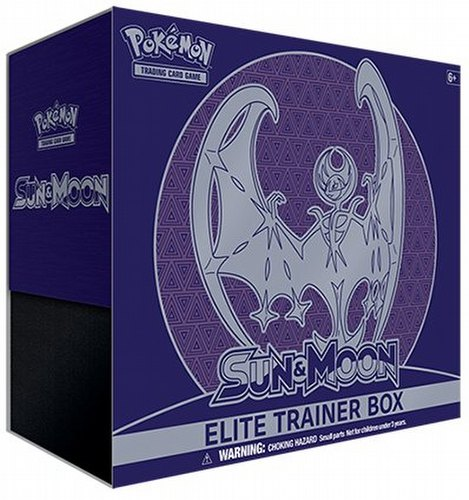 Pokemon TCG: Sun & Moon Elite Trainer Box [Lunala]