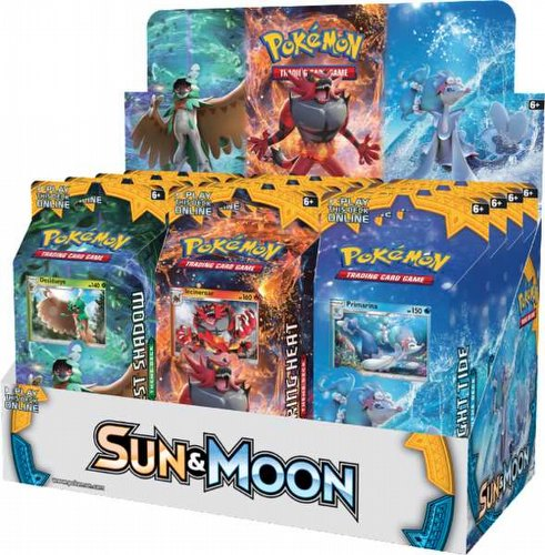 Pokemon TCG: Sun & Moon Theme Starter Deck Box