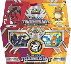 Pokemon TCG: Sun & Moon - Lycanroc & Alolan Raichu Trainer Set