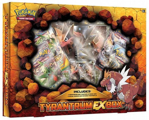 Pokemon TCG: Tyrantrum-EX Case [12 boxes]