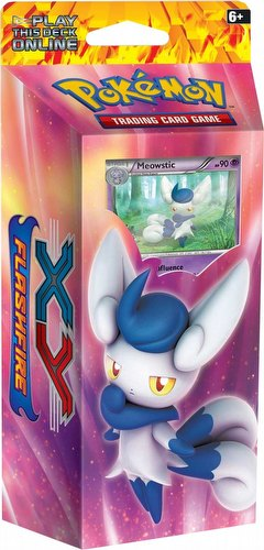 Pokemon TCG: XY Flashfire Mystic Typhoon Theme Starter Deck