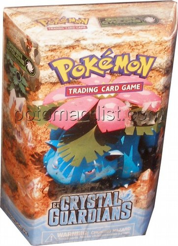 Pokemon TCG: EX Crystal Guardians Green Cyclone Theme Deck