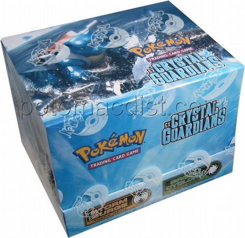 Pokemon TCG: EX Crystal Guardians Theme Starter Deck Box