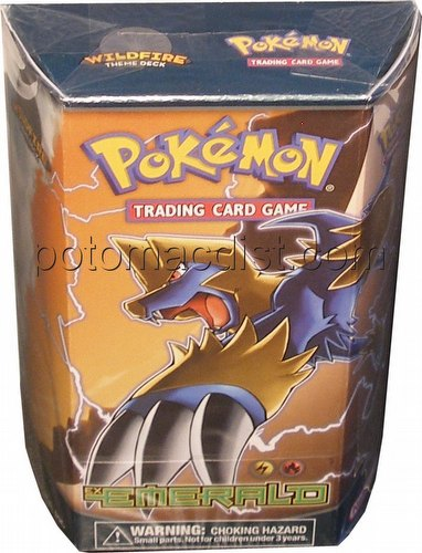 Pokemon TCG: EX Emerald Wildfire Theme Starter Deck
