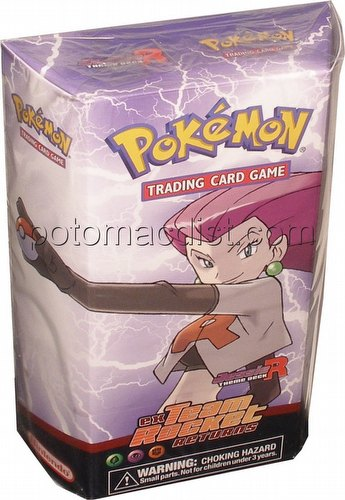 Pokemon TCG: EX Team Rocket Returns Jessie Theme Starter Deck