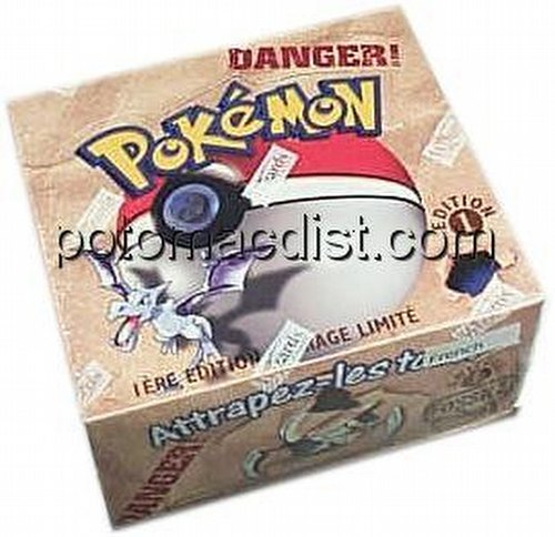 Pokemon TCG: Fossil Booster Box [1st Edition/French]