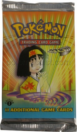 Pokemon TCG: Gym Heroes Booster Pack [1st Edition]