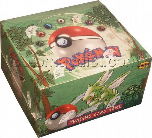 Pokemon TCG: Jungle Booster Box [Unlimited]