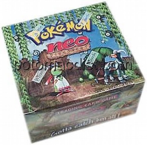 Pokemon TCG: Neo Discovery Booster Box [Unlimited]