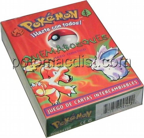 Pokemon TCG: Basic Preconstructed Quemabosques (Brushfire) Starter Deck [Spanish]