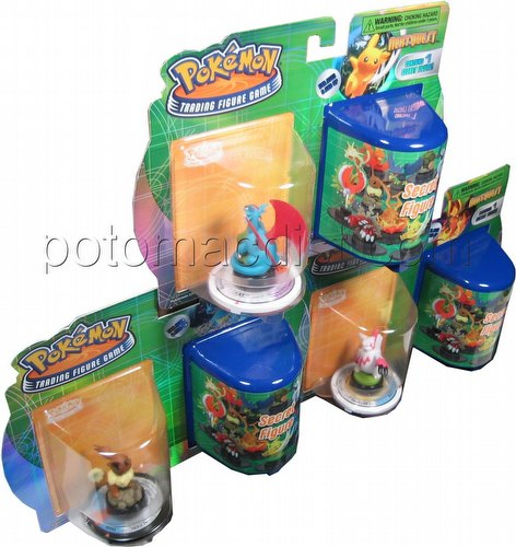 Pokemon Trading Figure Game [TFG]: Next Quest 2-Figure Booster Lot [3 booster packs]