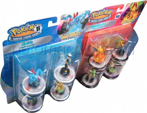 Pokemon Trading Figure Game [TFG]: Next Quest Starter Set [2 starters/1 of each]