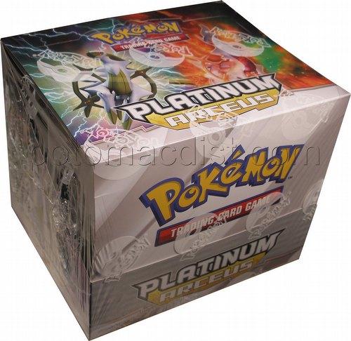Pokemon TCG: Platinum Arceus Theme Starter Deck Box