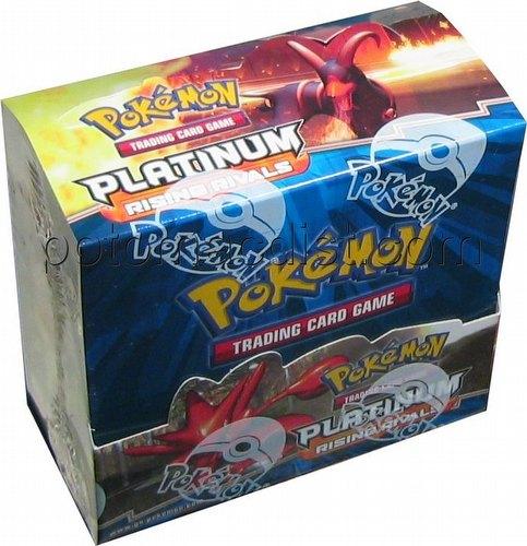 Pokemon TCG: Platinum Rising Rivals Booster Box