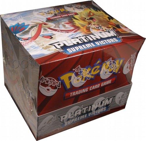 Pokemon TCG: Platinum Supreme Victors Theme Starter Deck Box