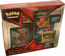 Pokemon TCG: Red Genesect Collection Box