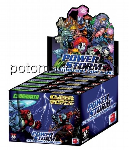 Powerstorm Customizable Card Game [CCG]: Preconstructed Starter Deck Box