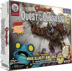 Quarriors! Dice Building Game: Quest of the Qladiator Expansion Box