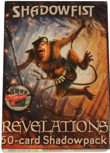 Shadowfist TCG: Revelations 50-Card Action Shadowpack