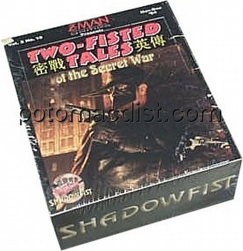 Shadowfist TCG: Two-Fisted Tales of the Secret War Booster Box