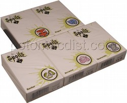 The Spoils Trading Card Game [TCG]: 1st Edition Pre-Con Trade Deck Set [5 decks]