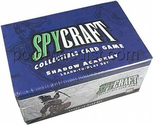 Spycraft: Shadow Academy 2-Player Learn-To-Play Set