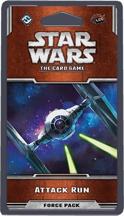 Star Wars The Card Game: Rogue Squadron Cycle - Attack Run Force Pack Box [6 packs]