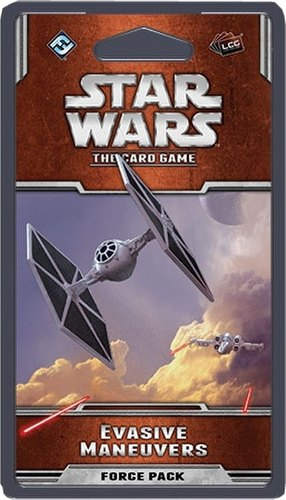 Star Wars The Card Game: Rogue Squadron Cycle - Evasive Maneuvers Force Pack Box [6 packs]