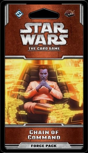 Star Wars The Card Game: Rogue Squadron Cycle - Chain of Command Force Pack Box [6 packs]