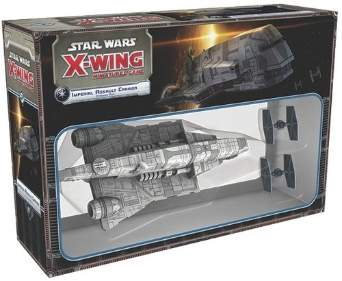 Star Wars X-Wing Miniatures: Imperial Assault Carrier Expansion Pack