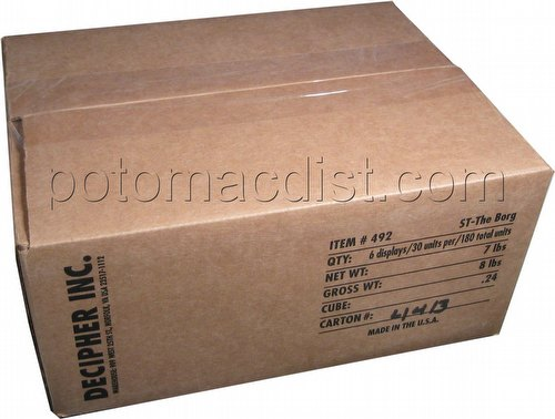 Star Trek CCG: Borg Booster Box Case [6 boxes]