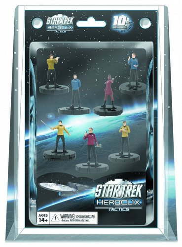 HeroClix: Star Trek Tactics Away Team 7-Pack Box