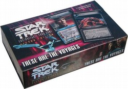 Star Trek CCG: These Are The Voyages Booster Box
