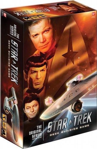 Star Trek Deck Building Game: The Original Series Case [8 boxes]