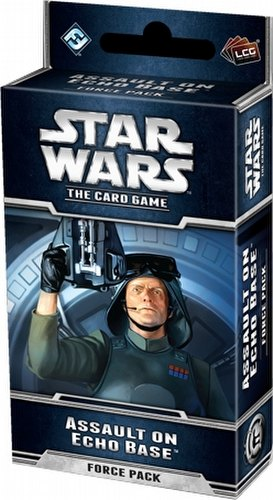 Star Wars The Card Game: The Hoth Cycle - Assault on Echo Base Force Pack Box [6 packs]