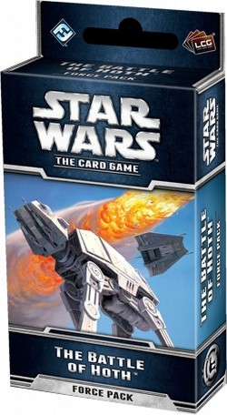 Star Wars The Card Game: The Hoth Cycle - The Battle of Hoth Force Pack Box [6 packs]