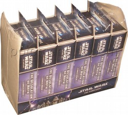 Star Wars The Card Game: The Hoth Cycle - The Desolation of Hoth Force Pack Box [6 packs]