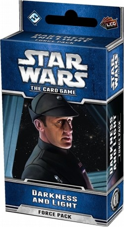 Star Wars The Card Game: Echoes of the Force Cycle - Darkness and Light Force Pack Box [6 packs]