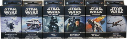 Star Wars The Card Game: The Hoth Cycle Force Pack Set [6 packs]