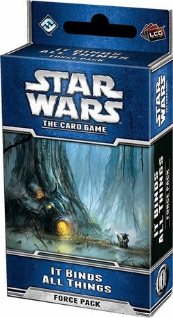 Star Wars The Card Game: Echoes of the Force Cycle - It Binds All Things Force Pack Box [6 packs]