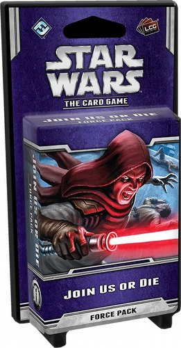 Star Wars The Card Game: Echoes of the Force Cycle - Join Us Or Die Force Pack Box [6 packs]