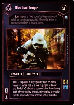 Star Wars CCG: Endor Foil Card Set [18 foil cards]