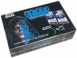 Star Wars Jedi Knights: Masters of the Force Booster Box