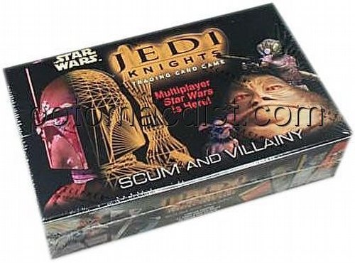 Star Wars Jedi Knights: Scum & Villainy Booster Box