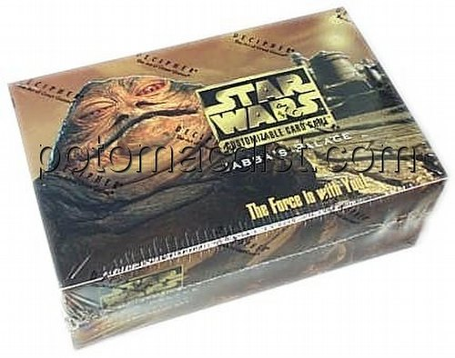 Star Wars CCG: Jabbas Palace Booster Box