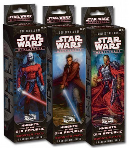 Star Wars Miniatures Game [CMG]: Knights of the Old Republic Booster Case [12 packs]
